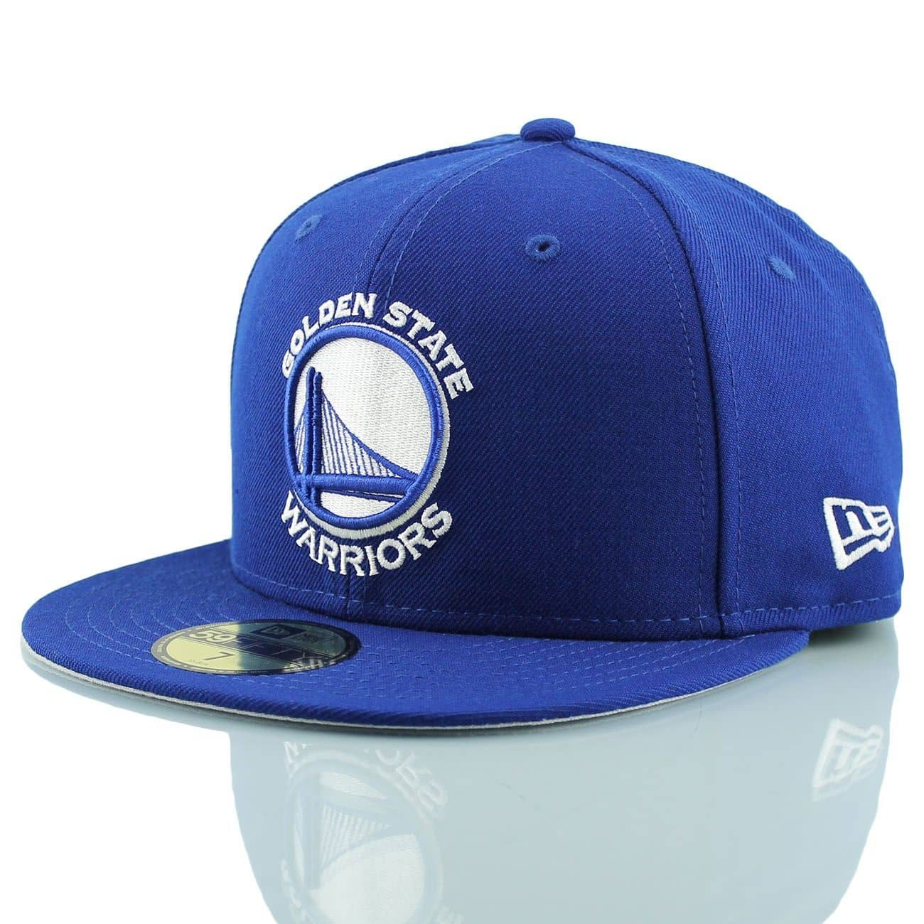 New Era Golden State Warriors Royal White 59FIFTY Fitted ...