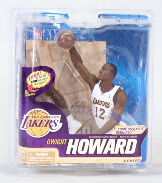NBA Series 22 Dwight Howard L.A. Lakers Collector Level Silver #1000