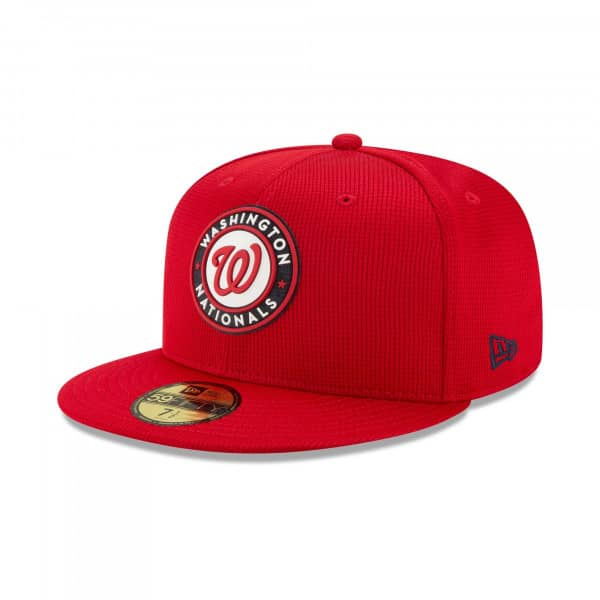 Washington Nationals 2021 MLB Authentic Clubhouse New Era 59FIFTY Fitted Cap