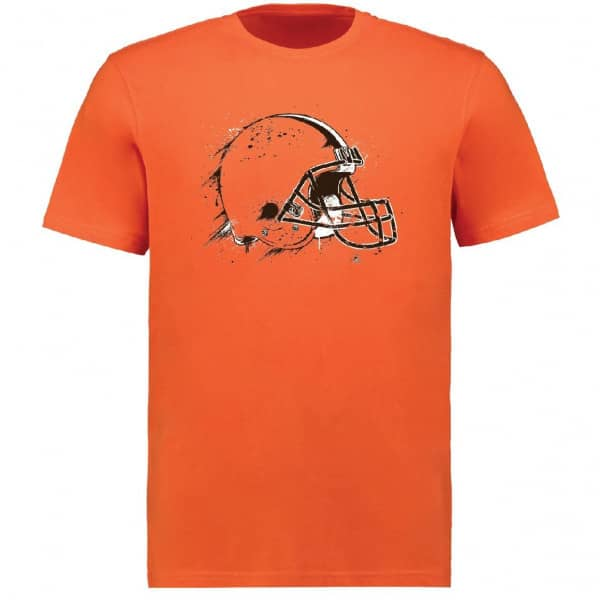 Cleveland Browns Splatter NFL T-Shirt