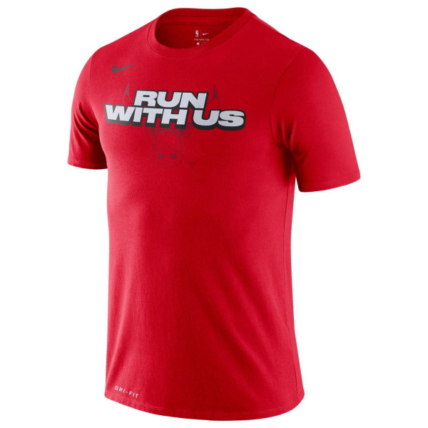 Chicago Bulls Run With Us Dri-FIT NBA T-Shirt