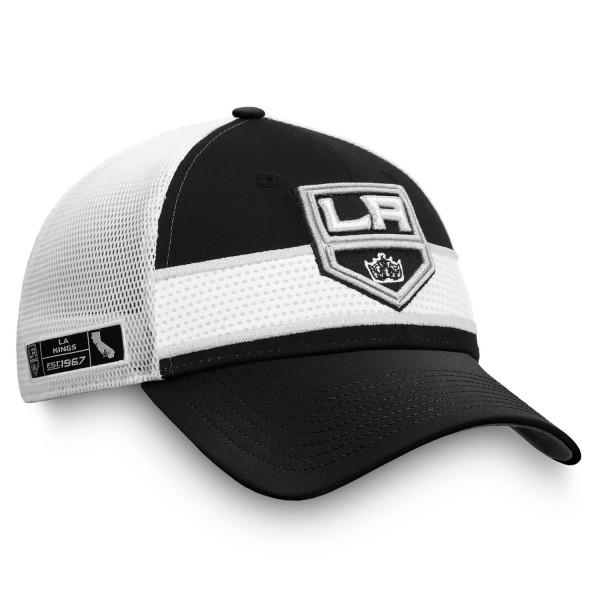 Los Angeles Kings 2020 NHL Draft Authentic Pro Fanatics Snapback Trucker Cap
