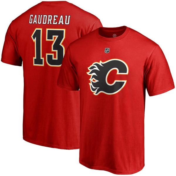 Johnny Gaudreau #13 Calgary Flames Fanatics Player NHL T-Shirt