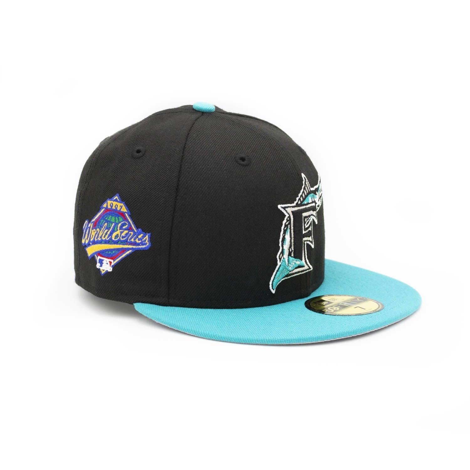 dc4005414 Florida Marlins 1997 World Series Cooperstown 59FIFTY MLB Cap