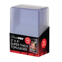 "Ultra Pro Toploader 3 x 4"" Super Thick Cards - 130pt"