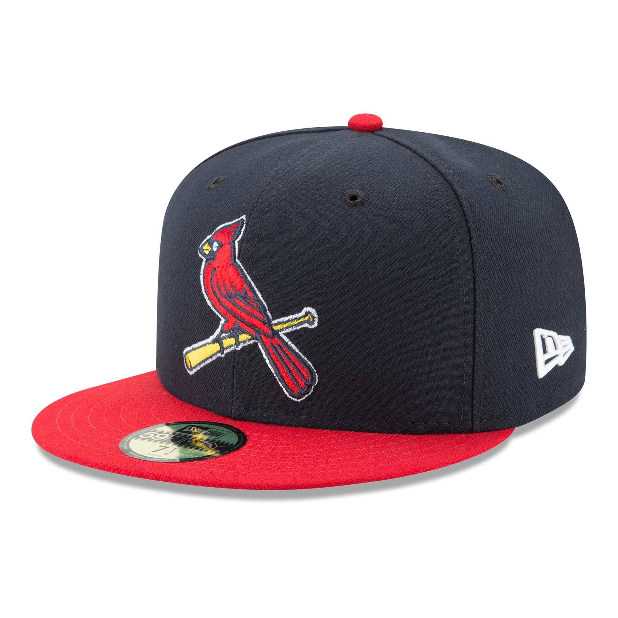 online retailer a9499 8bfd1 New Era St. Louis Cardinals Authentic 59FIFTY Fitted MLB Cap ALT2   TAASS. com