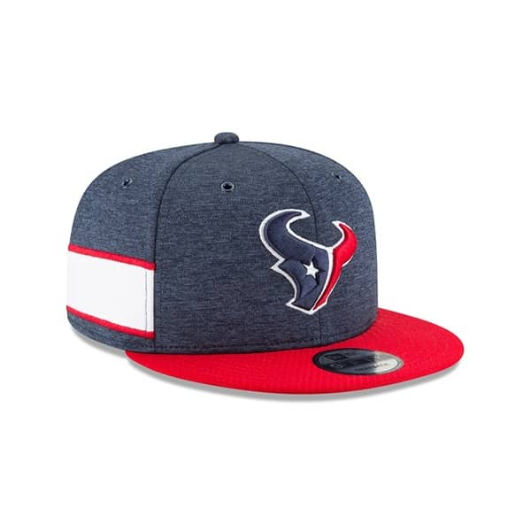 New Era Houston Texans 2018 NFL Sideline 9FIFTY Snapback Cap Home ... 6a3262f57c36