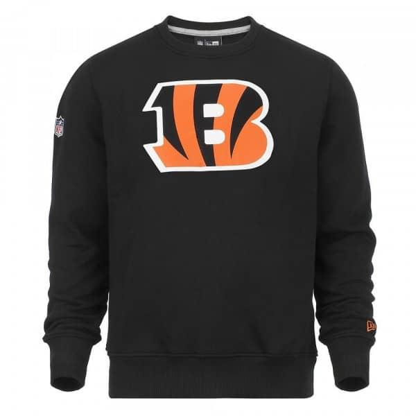 Cincinnati Bengals Logo Crewneck NFL Sweatshirt Schwarz