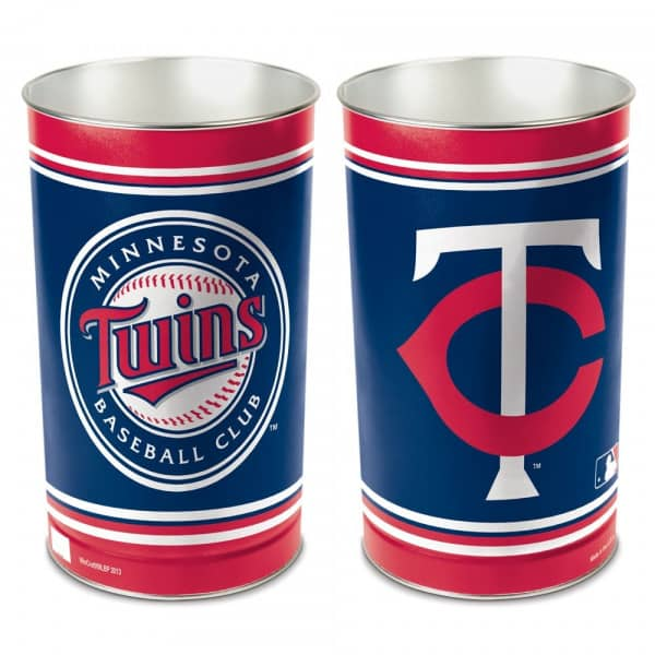 Minnesota Twins MLB Metall Papierkorb