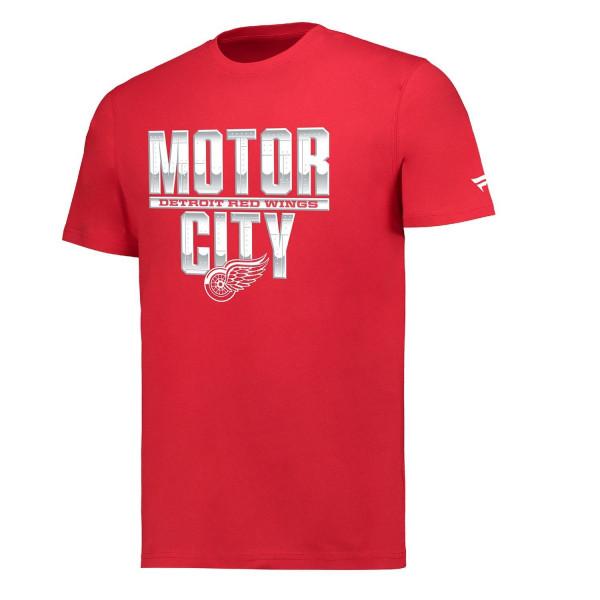 Detroit Red Wings Motor City Hometown NHL T-Shirt