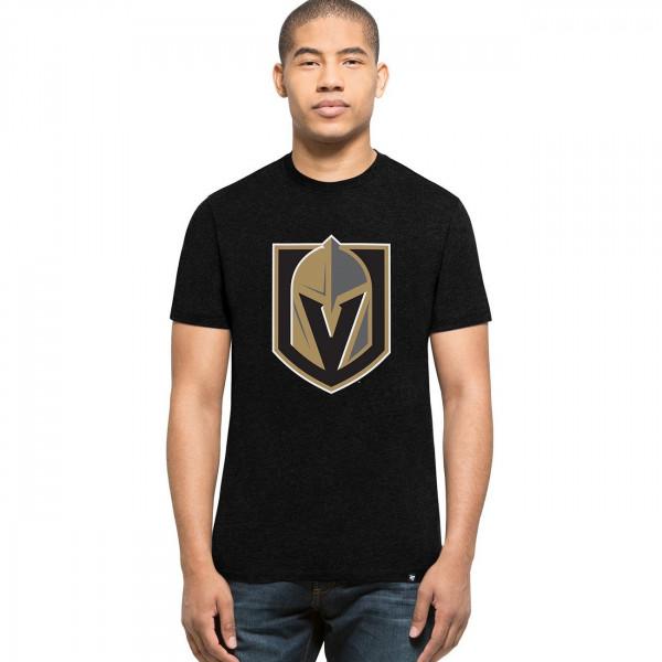 Vegas Golden Knights Club Logo NHL T-Shirt Schwarz
