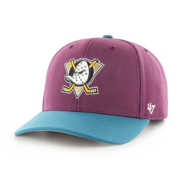 new concept 37c37 1e0b7 Anaheim Mighty Ducks Cold Zone MVP DP Snapback NHL Cap