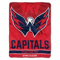 Washington Capitals Breakaway Super Plush NHL Decke