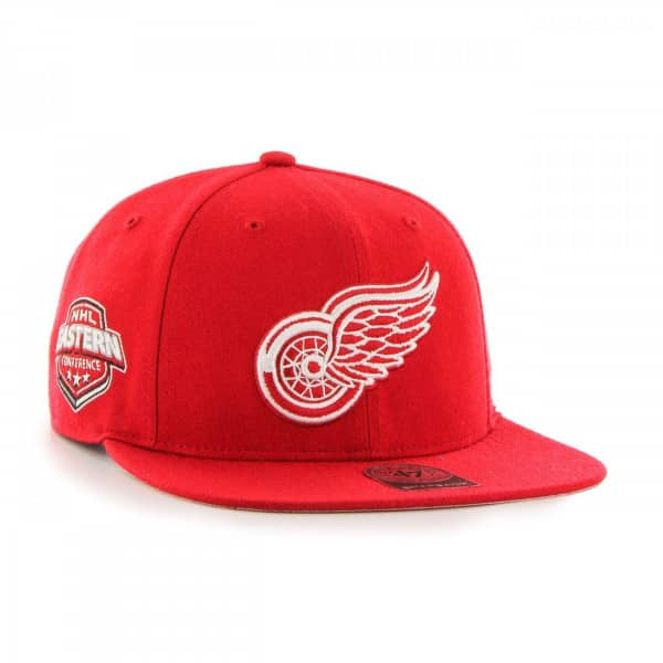 detailed look a3109 a9a59 Detroit Red Wings Sure Shot Snapback NHL Cap