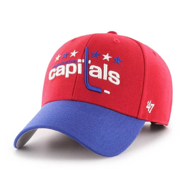 Washington Capitals Vintage Hockey MVP Adjustable NHL Cap