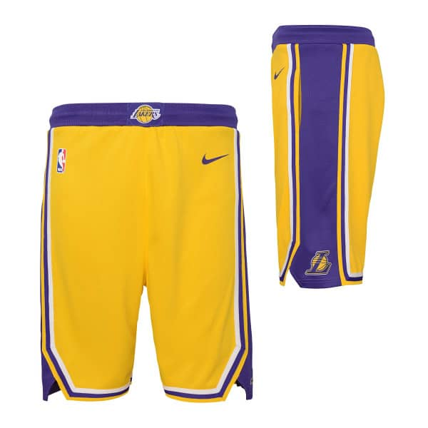c30f038474d3 Nike Los Angeles Lakers Youth Swingman NBA Shorts Gelb