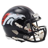 Denver Broncos American Football NFL Speed Mini Helm