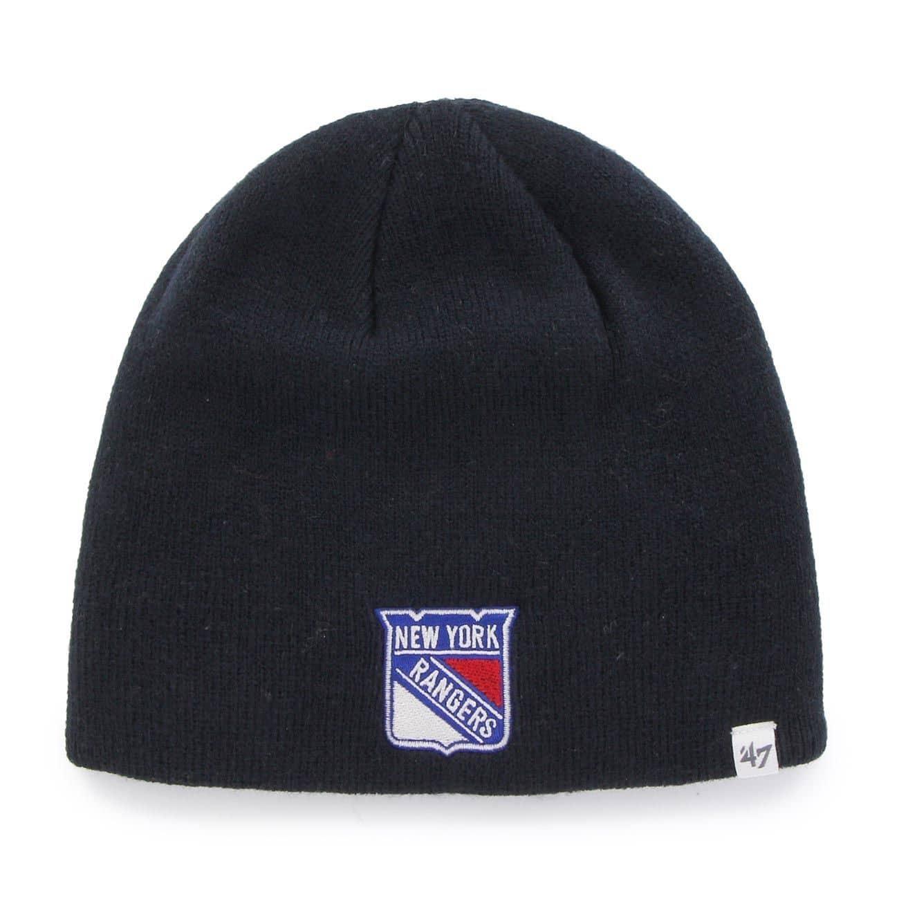 '47 Brand New York Rangers Beanie NHL Wintermütze Navy ...