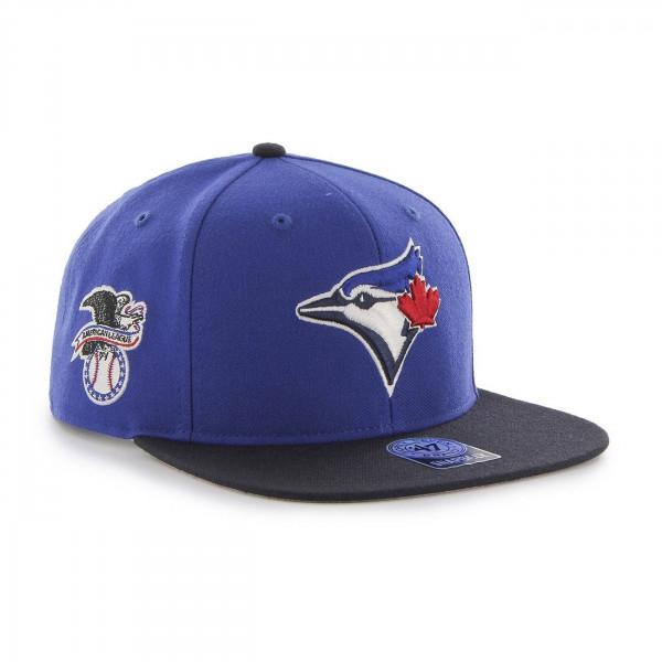Toronto Blue Jays 2-Tone '47 Sure Shot Snapback MLB Cap