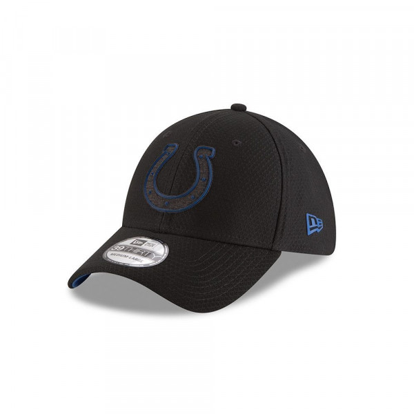 the latest 3a45e 380ec New Era Indianapolis Colts 2018 NFL Training 39THIRTY Cap Black   TAASS.com  Fan Shop
