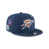 Oklahoma City Thunder 2018 NBA Draft 9FIFTY Snapback Cap Blue Denim