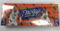2017/18 Panini Prestige Basketball Hobby Box NBA