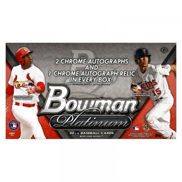 2014 Bowman Platinum Baseball Hobby Box MLB