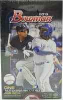 2019 Bowman Baseball Hobby Box MLB