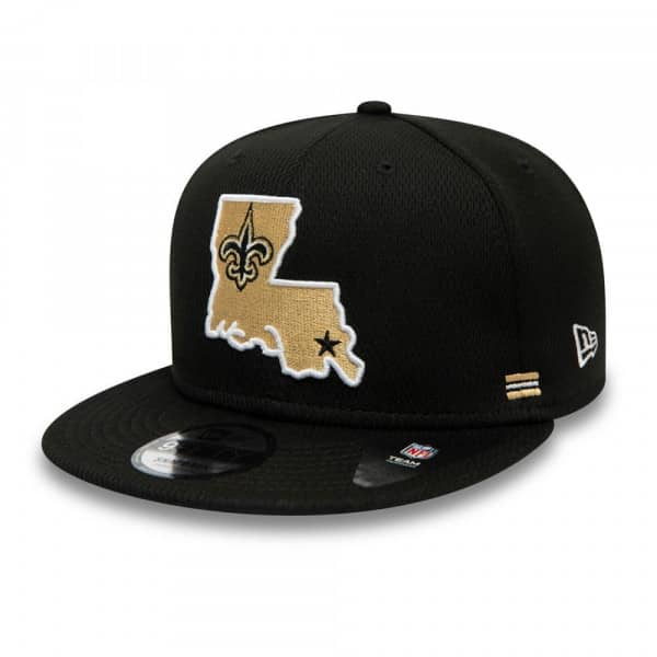 New Orleans Saints Unofficial 2020 NFL Sideline New Era 9FIFTY Snapback Cap Home
