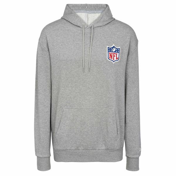 NFL Shield Detail Logo New Era NFL Hoodie Grau
