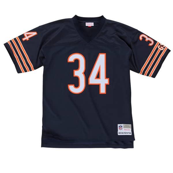 Walter Payton #34 Chicago Bears Legacy Throwback NFL Trikot Navy