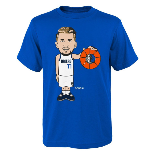 Luka Dončić Dallas Mavericks Geeked Up NBA T-Shirt