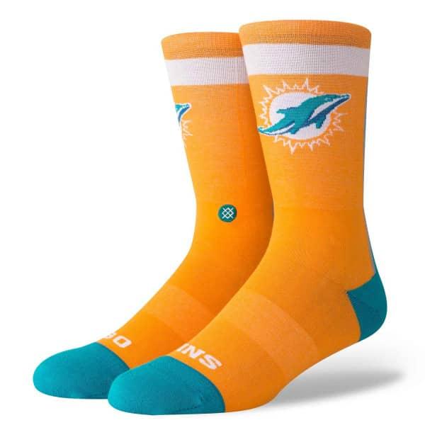 pretty nice bf007 eaf04 Miami Dolphins Color Rush NFL Socks