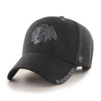 Chicago Blackhawks Graphite Defrost MVP Adjustable NHL Cap