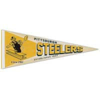 Pittsburgh Steelers Premium Throwback NFL Wimpel