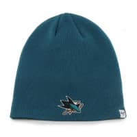 San Jose Sharks Beanie NHL Wintermütze Türkis