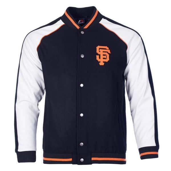 new products 3b149 9d244 San Francisco Giants Baseball Letterman MLB Jacket