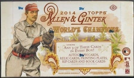 2014 Topps Allen & Ginter Baseball Hobby Box MLB