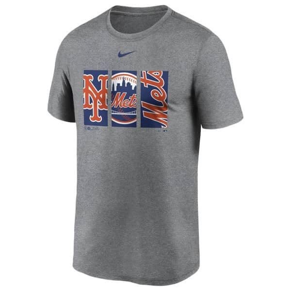 New York Mets Triptych Nike Legend MLB T-Shirt