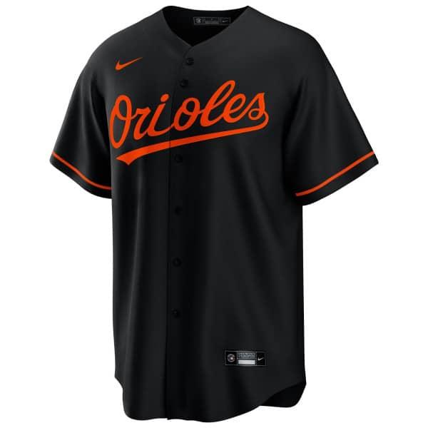 Baltimore Orioles 2020 Nike MLB Replica Alternate Trikot Schwarz
