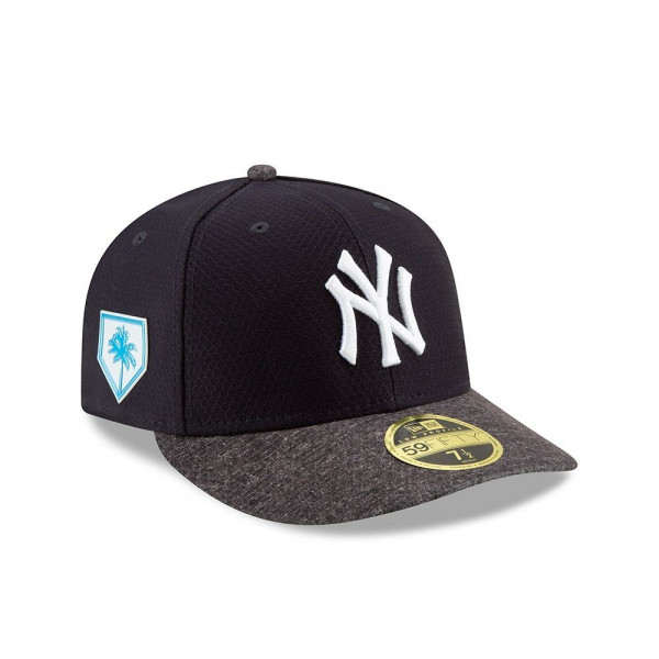 c3e465cb3fc2a8 New Era New York Yankees 2019 Spring Training Low Profile 59FIFTY MLB Cap  Road | TAASS.com Fan Shop