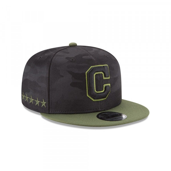 Cleveland Indians 2018 Memorial Day 9FIFTY Snapback MLB Cap