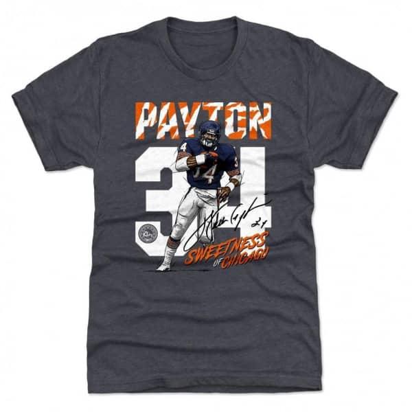 Walter Payton Chicago #34 Throwback NFL T-Shirt