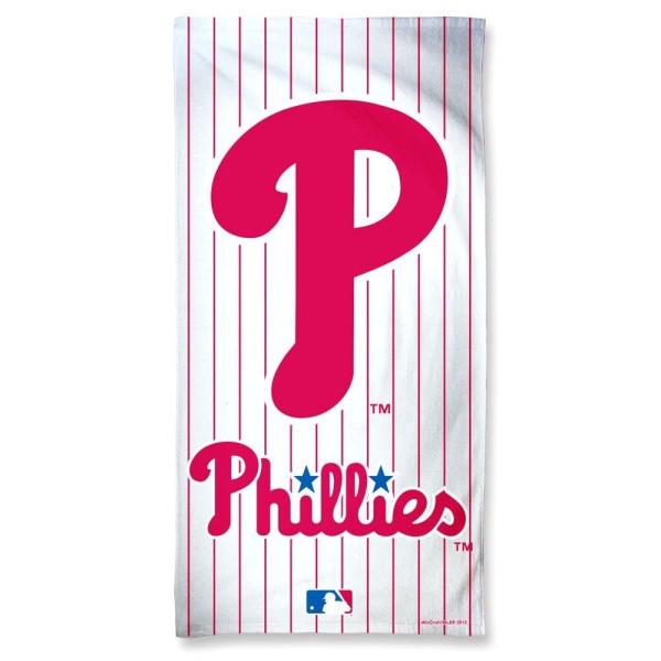 Philadelphia Phillies Stripes Fiber MLB Strandtuch