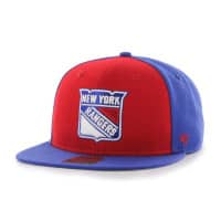 New York Rangers Colored Front Panel Snapback NHL Cap