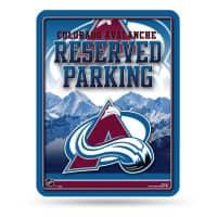 Colorado Avalanche Reserved Parking NHL Metallschild