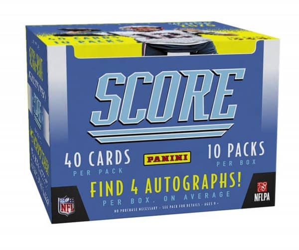 2020 Panini Score Football Hobby Box NFL