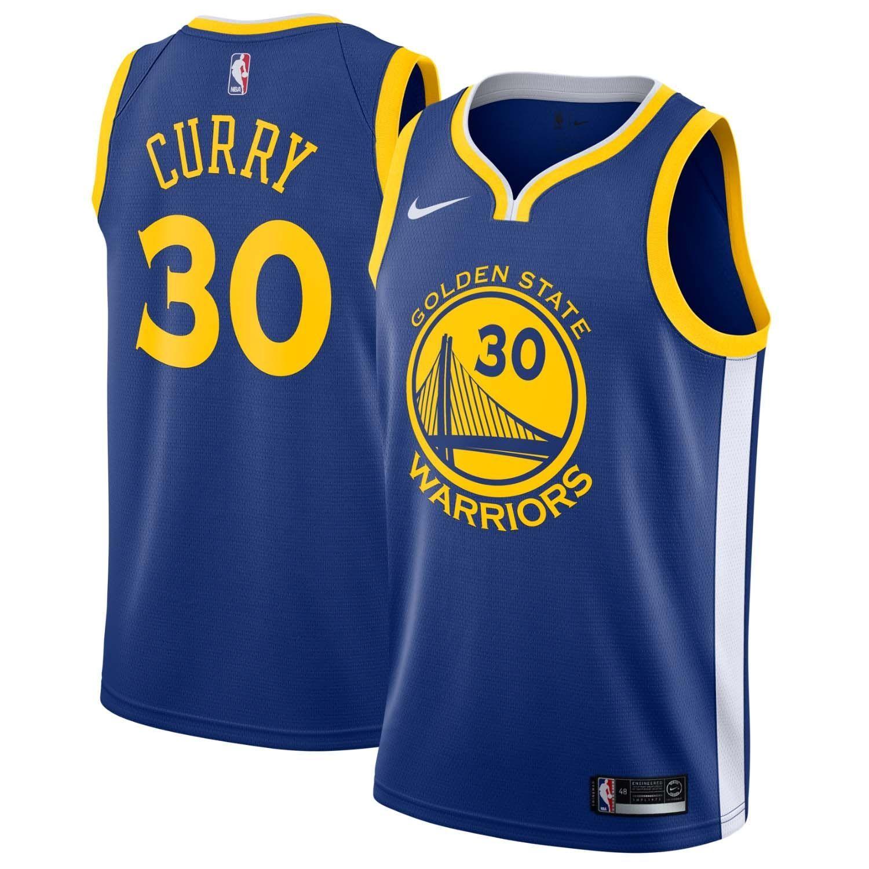 b985054adaf Nike Stephen Curry  30 Golden State Warriors Icon Swingman NBA Jersey Blue