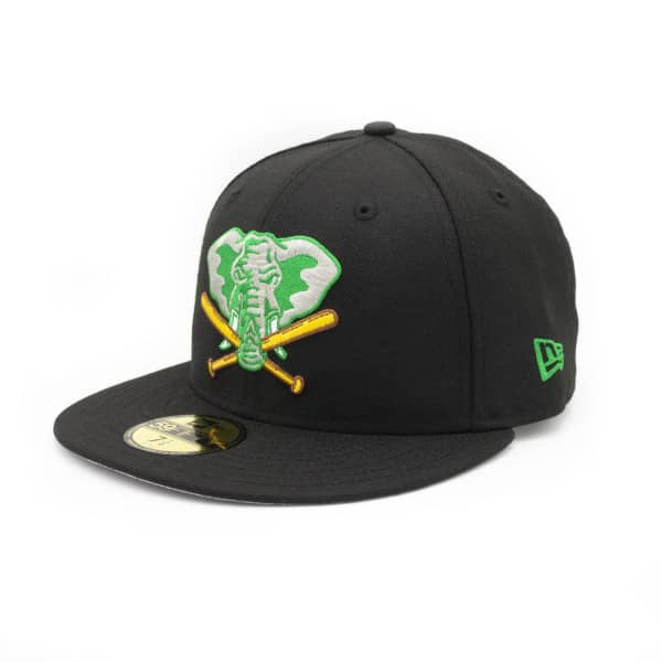 Oakland Athletics Elephant Cooperstown 59FIFTY Fitted MLB Cap