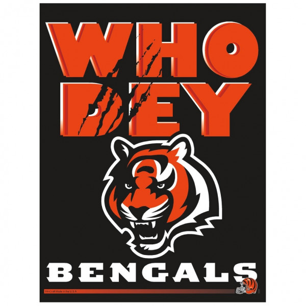 Cincinnati Bengals - Who Dey - Football NFL Fahne